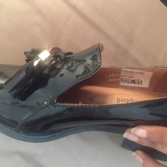 Size 5 Jeffrey Campbell Patent Loafers