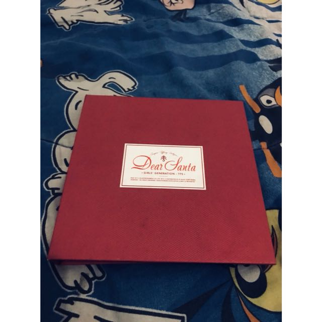 SNSD TaeTiSeo Christmas Special Mini Album- Dear Santa