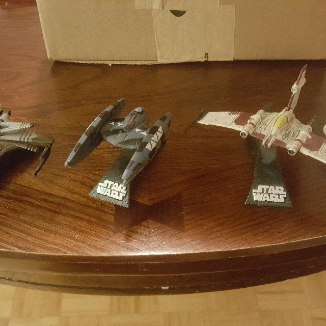 Star Wars ship toys / models