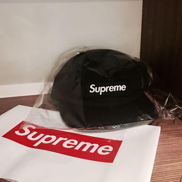 Supreme 2017FW 黑五分割帽