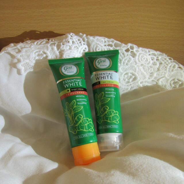 Gizi Essential White Day Cream And Night Cream