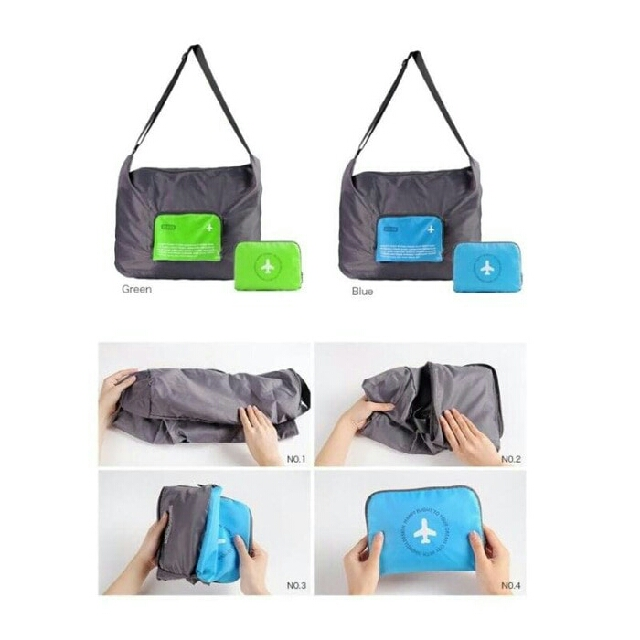 Tas Selempang / Travel Sling Bag / Foldable Crossbody Travel Bag