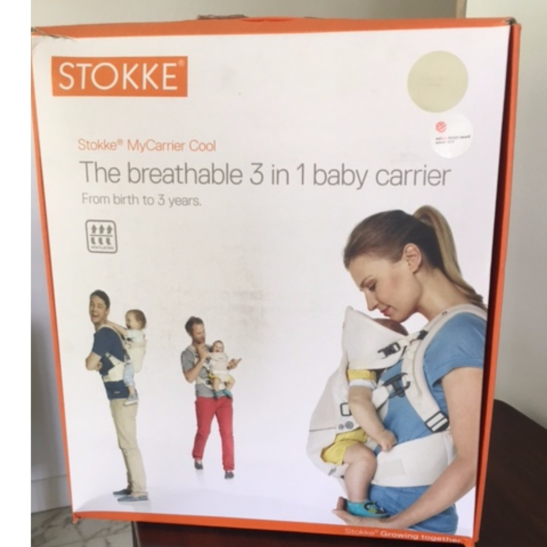 The Original Stokke Mycarrier 3 In 1 Baby Carrier