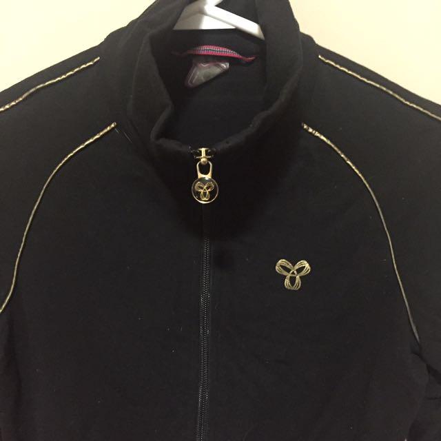 TnA running zip up shirt