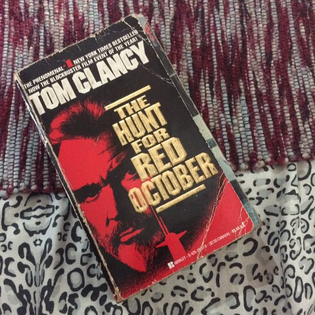 Tom Clancy - The Hunt for Red October on Carousell