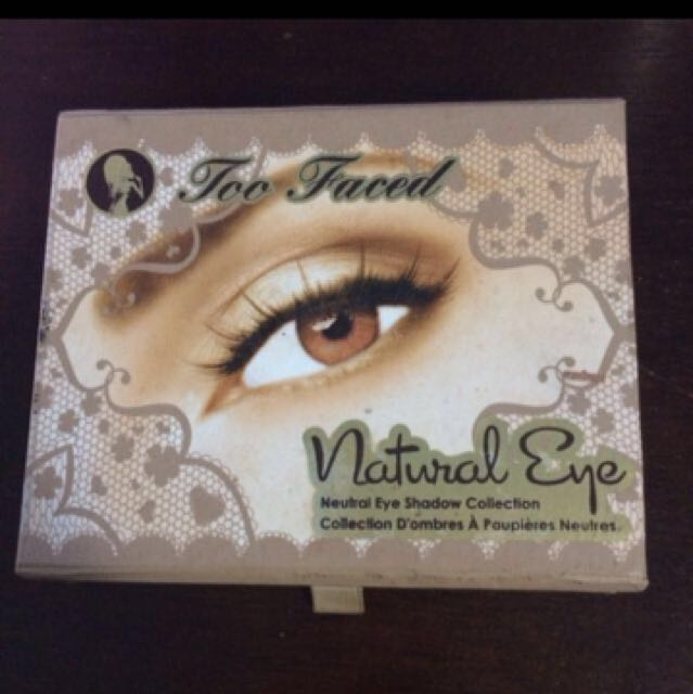 TooFaced Natural Eye Palette PRICE DROP
