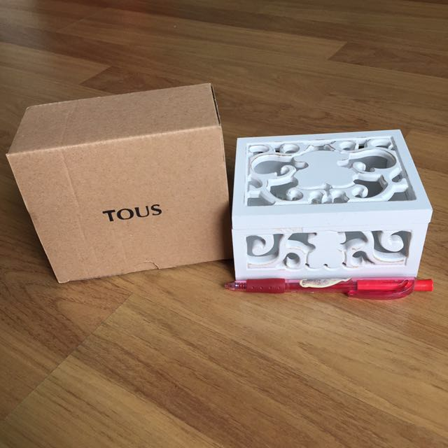 TOUS Jewelry Box Home Furniture Others on Carousell