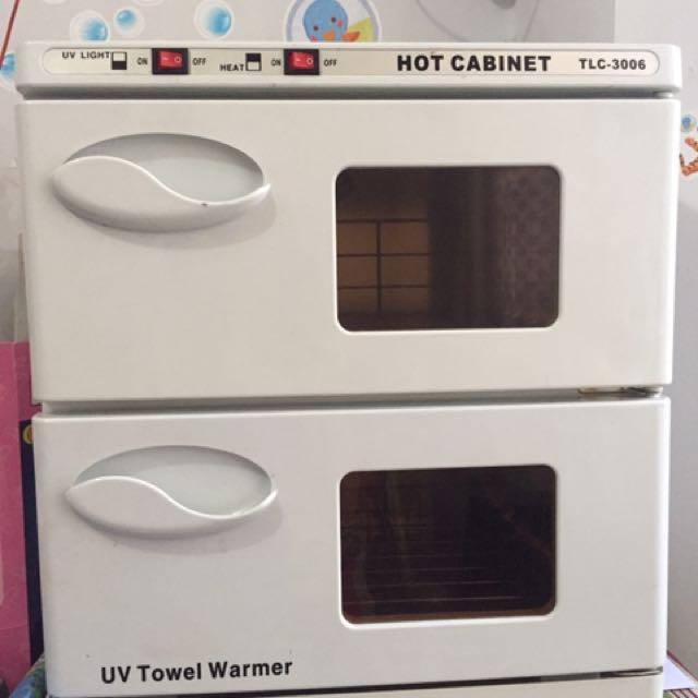 Towel warmer/hot cabinet/sterilizer