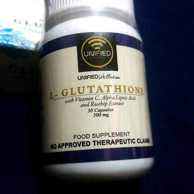 Unified Wellness L-Glutathione 30 Capsules (500mg)
