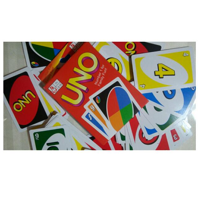 UNO GAME CARD