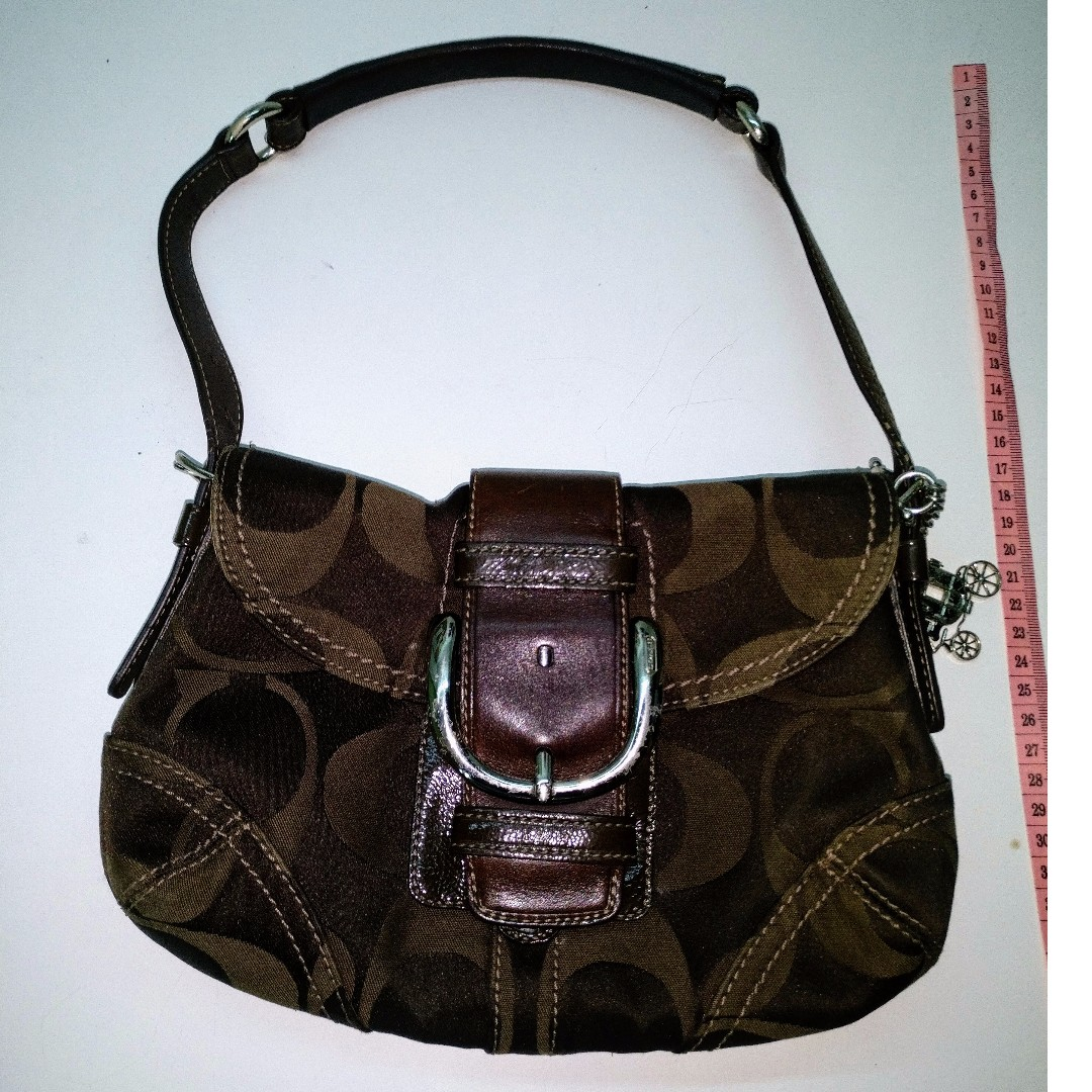 45d8ce885646 Used Coach Bag for sale (Genuine) - Dark Brown.