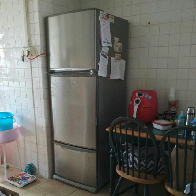 Used Mitsubishi Electric fridge for sale. Refrigerator.