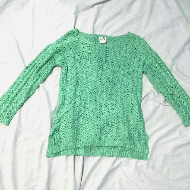 Vero Moda crochet sweater