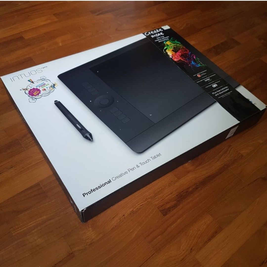 Wacom Intuos Pro Pen And Touch Large Tablet Pth851 Electronics