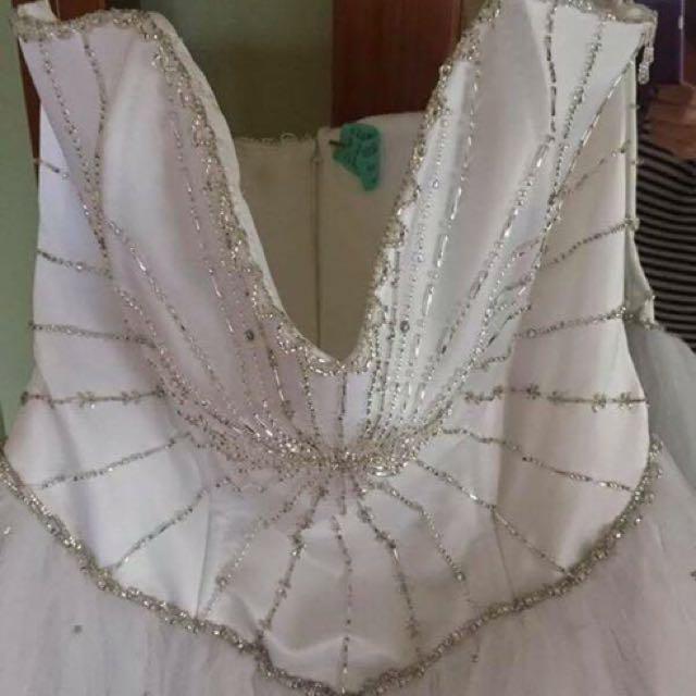 White Princess Deb Dress