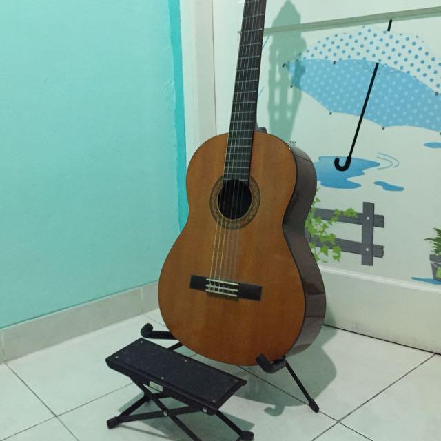 Yamaha CX-40, paket komplit untuk gitaris klasik