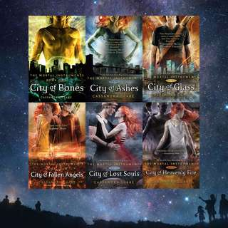 FREE! The Mortal Instruments by Cassandra Clare