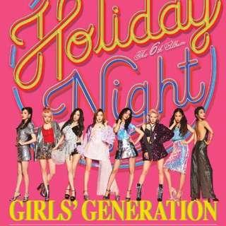 "Girls' Generation 6th Full Album Holiday Night ""Holiday ver."""