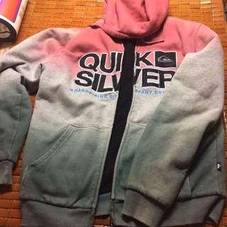 quicksilver厚身外套