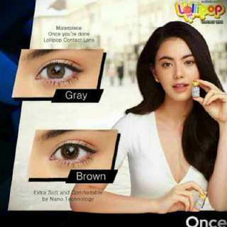 Dolly brown contact lenses