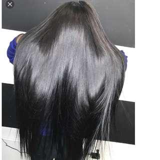 "Brazillian Mink  straight hair 3 bundles of 28"""