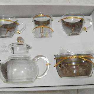 茶壺連杯一套