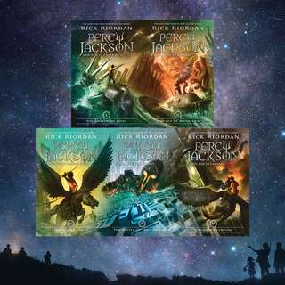 FREE! Percy Jackson and the Olympians Series by Rick Riordan
