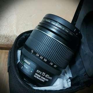 Canon 15-85mm EF-S +保護鏡Marsace