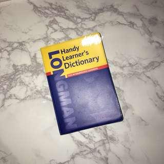 Longman Handy Learner's Dictionary for Intermediate Learners