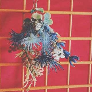 蕨覺系耳飾-1 骷顱