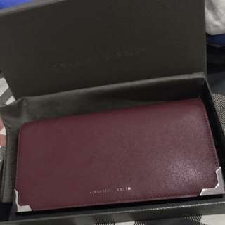Dompet charles n keith (complete box & dustbag)