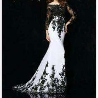 Vintage Long Gown