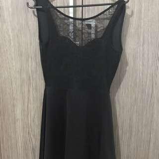 Dress H&M Renda Backless