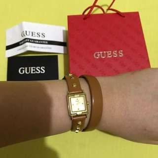 Guess Brown Leather