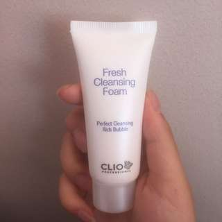 Clio fresh cleansing foam