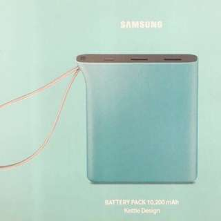 Samsung 10200mAh流動充電器藍色