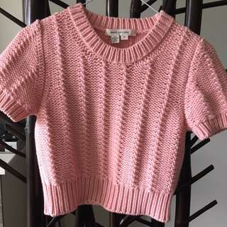 Marc Jacobs Cashmere crop sweater Sz M