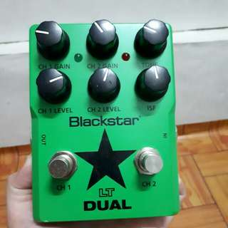 FOR SALE!!---> Blackstar LT Dual 2 Channel Distortion Guitar Effects Pedal Condition: 10/10 perfect condition (barely used) RFS: Need Cash (no swap/trade)