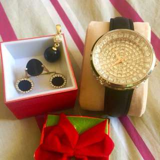 Set of jewellery and my stunning collection watch! Bargain 👌or NEAREST OFFER only!