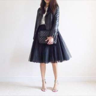 Black Tulle Skirt - One Size