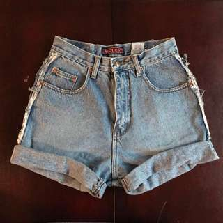 Request denim shorts size 28
