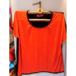Plus size Go Figure (SM dept store) round neck top.
