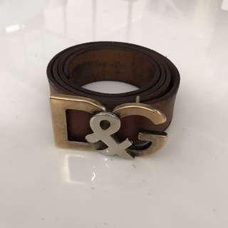 Dolce & Gabbana D&G Belt