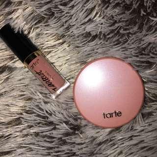 Tarte Blush Amazonian Clay Blush & matte lip Paint Set