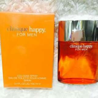 Clinique Happy for men US tester perfume