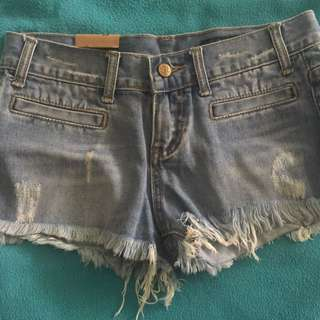 Brand new funky jean shorts