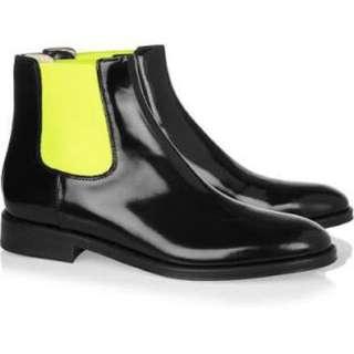 Christopher Kane Fluro Chelsea Boots