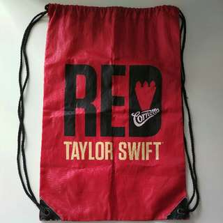 Cornetto Taylor Swift Red Tour Drawstring Bag