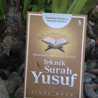 Panduan menulis novel