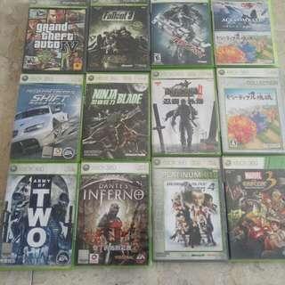 眾多XBOX遊戲片